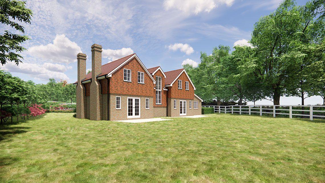 Hawthorn House, Lingfield - BJBabb