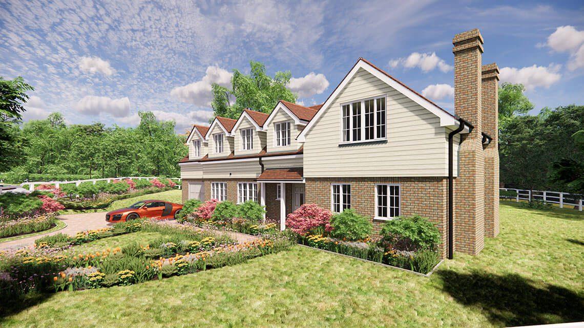 Rowan House, Lingfield - BJBabb