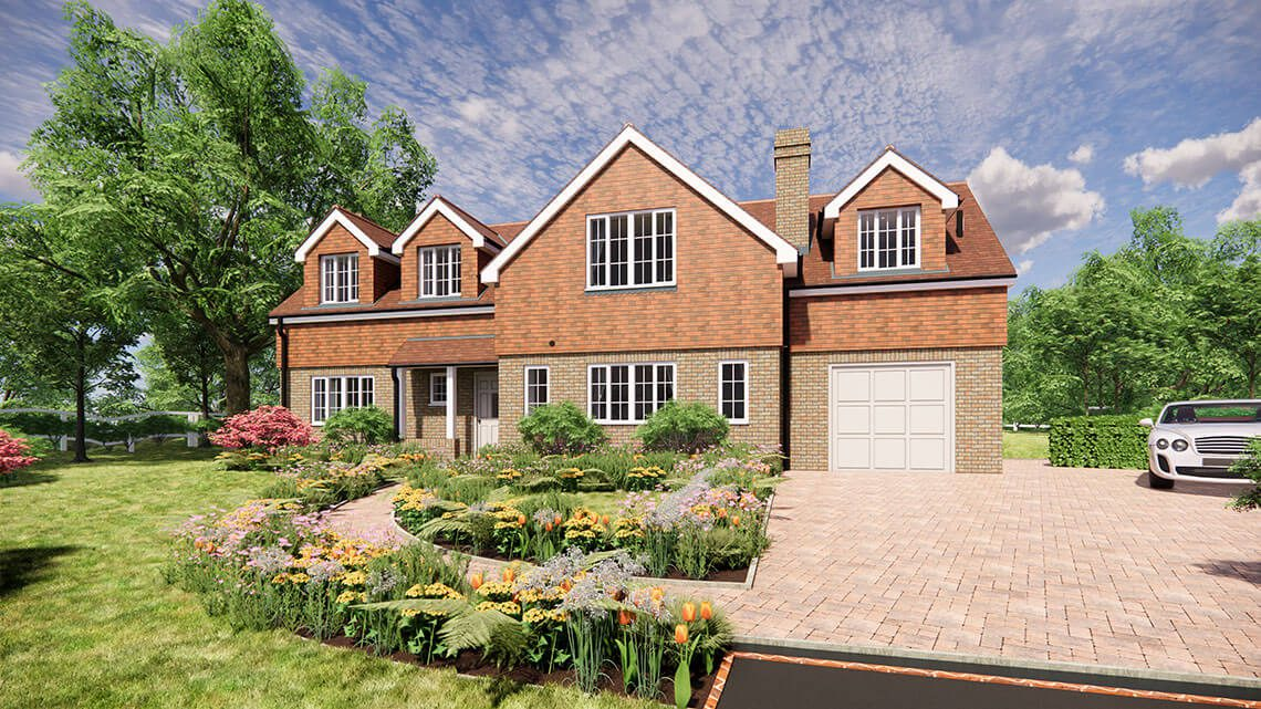 Blackthorn House, Lingfield - BJBabb